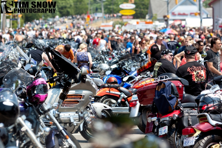 Port Dover Friday the 13th Biker Rally
