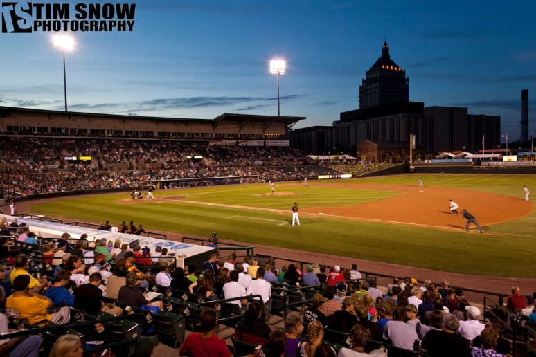 Frontier Field in Rochester, NY